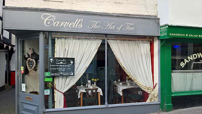 Carvells The Art Of Tea